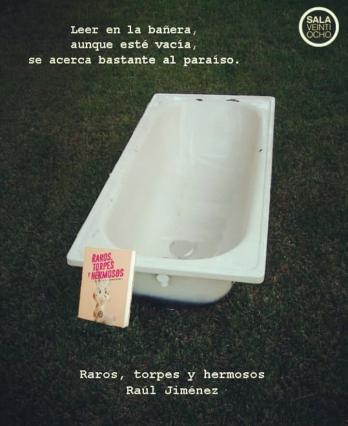 Cartel promocional 2. Raros, torpes y hermosos. Raúl Jiménez. Editorial Sala 28.